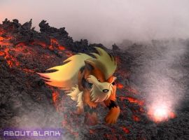 Arcanine Drawing by soadpedro