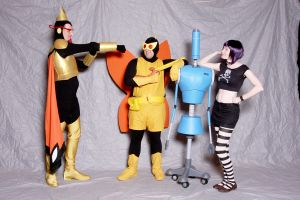 Venture Bros group 1 by MaiSheriCostumes
