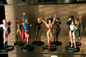 DC comics women by Robby-Robert