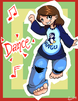 dancing by fourire