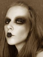Gothic Self-Portrait by Rilrae