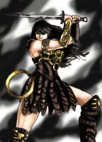 Xena Warrior Princess by Bliss-Whitely