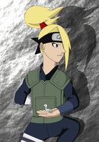 Deidara:  Going In by SractheNinja