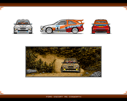 Ford Escort RS Cosworth Repsol by EC-designs