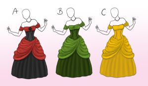 [SOLD] Ball Gown Adopts by Captain-Savvy