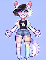 ADOPT [CLOSED]: Anthro Adopt #1 - AUCTION by Mousehearts
