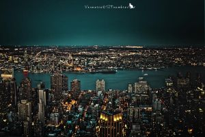 NY by Night by Slairea