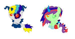 Foals For Paintset by star4567980