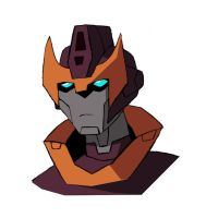 Transformers Animated Rodimus by Destron23