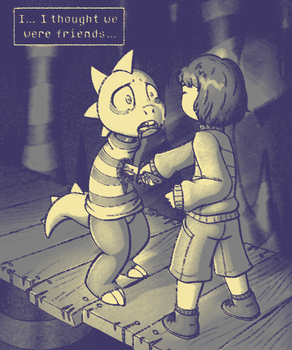 Undertale Genocide Filtered by Lord-Kiyo