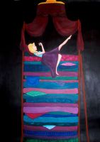 The Princess and the Pea by S-helleh