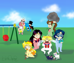 Baby Senshi: Save the World by HAPPYHAHA
