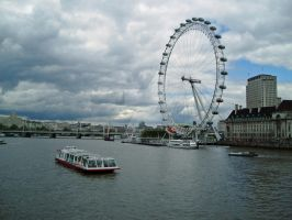 London Eye by IrishBuffaloGirl