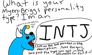 Myers Briggs Personality Type by monkfishlover