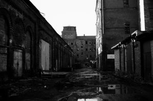 Territory of the former factory by Metalheadka