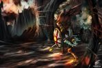 Dark Souls: Knight Solaire by PietZooter