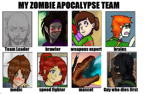 Acachalla Family Apocalypse team by LAngel2