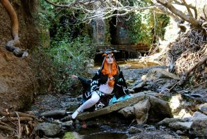 Midna At The Rocks by ibixii
