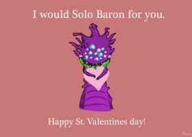 I'd solo Baron for you by PeachyTwist