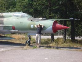 Me and MiG-21 by Fastphase1