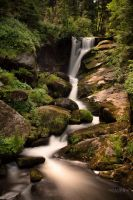 Triberg Cascades by Creative--Dragon
