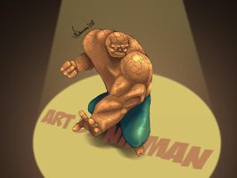 Fantastic 4: THE THING by nirman