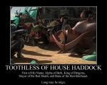 Toothless of House Haddock by Grievous-fangirl