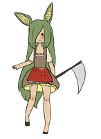 Marzia the Corn Rabbit by Ask-Dee