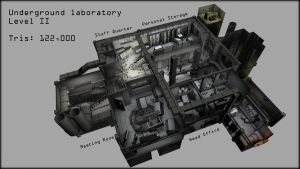 Underground Laboratory Level 2 by shadowofamn