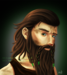 Earthdawn: Micah by C-VonBear