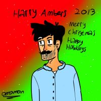 Harry Ambers Christmas 2013 by Omomon