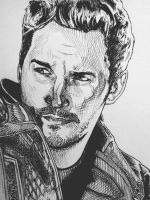 Chris Pratt - STAR LORD by Synosurai