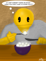 Dinner For One by PalfreyMan