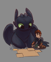 HTTYD [SKETCH] :: All Mapped Out by stinawo