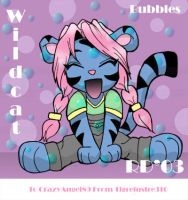 Wildcat plays in bubbles by tigrelustre316