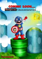 Captain Mario by abazou