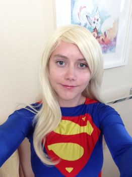 Supergirl test by B0obeary