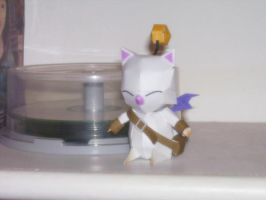 Moogle Papercraft by kdaver