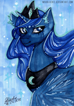 Would you dare to defy the Queen of Night? by MadBlackie