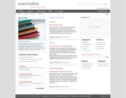 Avant GridLine for Wordpress by alexjames01