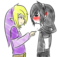 Vio x DarkHero Tumblr by Ask-VioLink