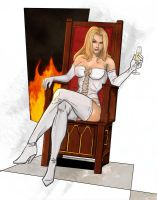 Emma Frost, White Queen by Supajoe