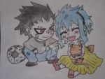 Grajeel X Levy by Minecraft9997