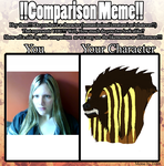 My Comparison Meme 3 by DanteVergilLoverAR