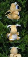 Dragonite Pokedoll by Glacdeas