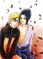 To see your smile_NaruSasu by alexzoe