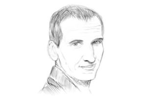 Christopher Eccleston B and W by IBelongToTheDoctor
