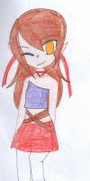 LOZ Wind Waker OC Chelsea by TacWithAPencil
