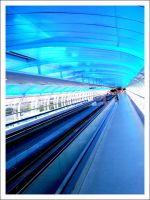Airport Walkway 2 by Blood-Of-A-Pirate