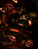 Manifestation of Sin: Gluttony by DrewtheUnquestioned